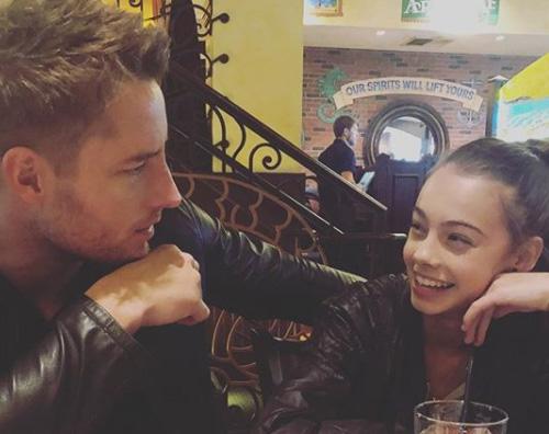 Justin Heartley Justin Hartley papà dolcissimo su Instagram