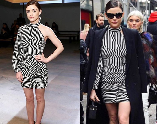 Lucy Hale Anche Lucy Hale alla NY Fashion Week