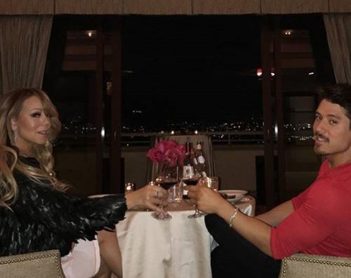 Mariah Carey 3 Mariah e Bryan, hot per San Valentino