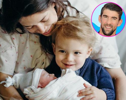 Michael Phelps Michael Phelps è papà per la seconda volta