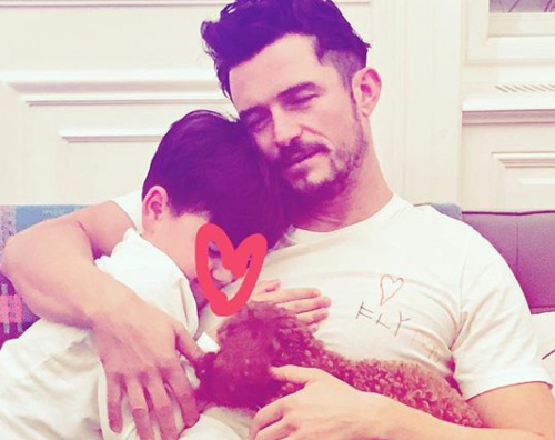 Orlando Bloom Orlando Bloom, papà pazzo d'amore