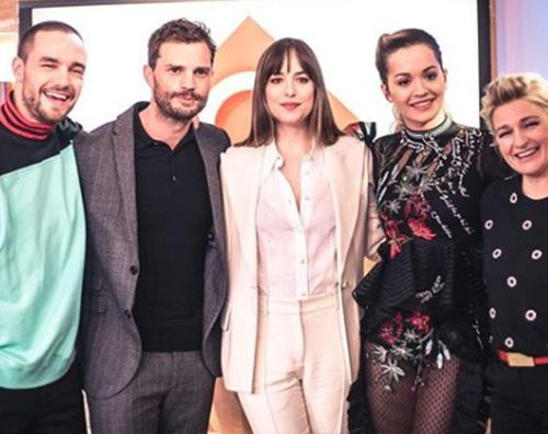 """Rita Ora 1 Il cast di """"50 Sfumature di Rosso"""" è arrivato a Parigi"""