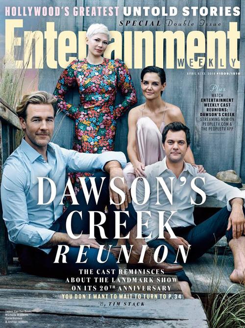 DAWSONS CREEK Dawsons Creek, la reunion 20 anni dopo!