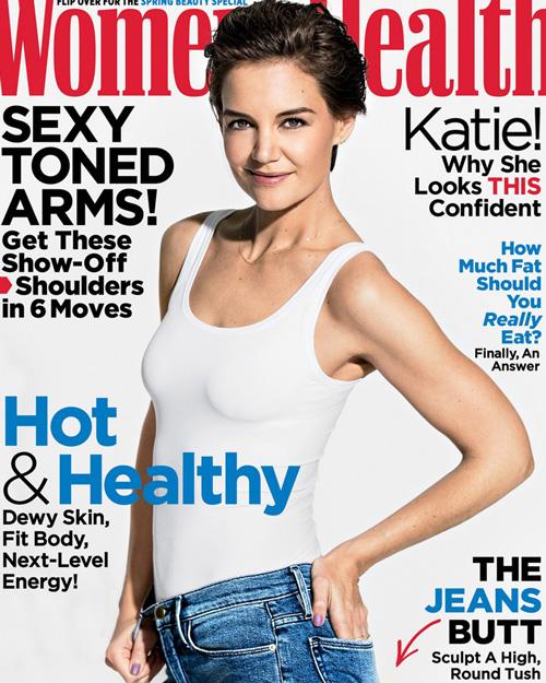 Katie Holmes 1 Katie Holmes in formissima su Women's Health