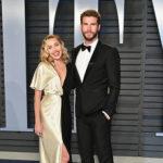 Miley Cyrus e Liam Hemsworth 150x150 Parata di stelle all'after party di Vanity Fair