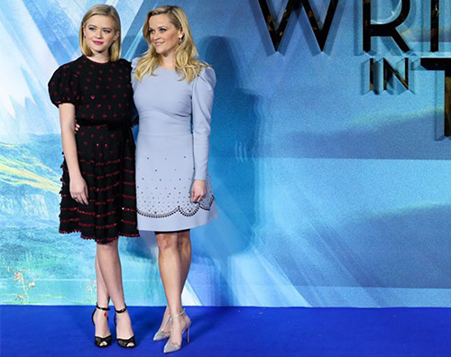 "ReeseWitherspoon 1 Reese Wirherspoon presenta ""Nelle Pieghe Del Tempo"" a Londra"