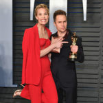 Sam Rockwell Leslie Bibb 150x150 Parata di stelle all'after party di Vanity Fair