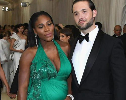 Serena Williams Cover Alexis Ohanian difende sua moglie Serena Williams pubblicamente