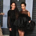 Zoe Kravitz Lisa Bonet 150x150 Parata di stelle all'after party di Vanity Fair