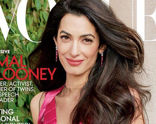 Amal Cover Amal Alamuddin è la star di maggio su Vogue