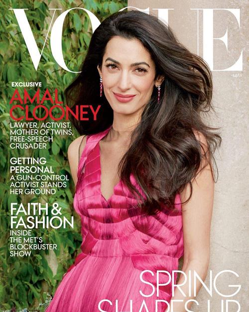 Amal Amal Alamuddin è la star di maggio su Vogue