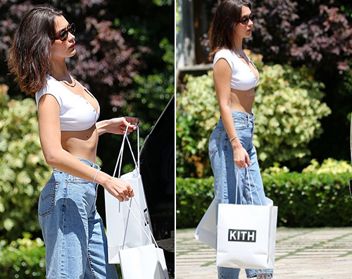 Bella Hadid 4 Bella Hadid, sexy per lo shopping