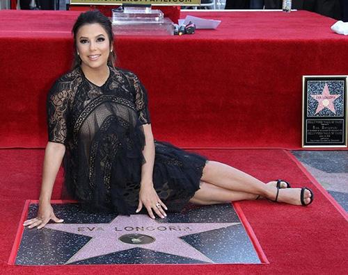 Eva Longoria Eva Longoria ha la sua stella sulla Walk Of Fame