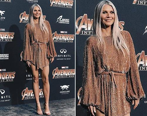 Gwyneth Paltrow 1 Gwyneth Paltrow brilla sul red carpet di Avengers