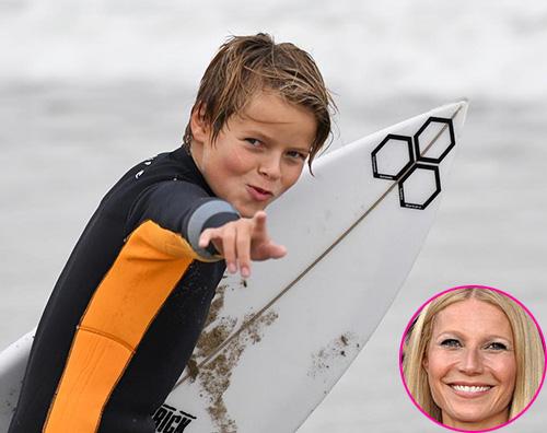 Gwyneth Paltrow Gwyneth Paltrow celebra il compleanno di Moses su Instagram