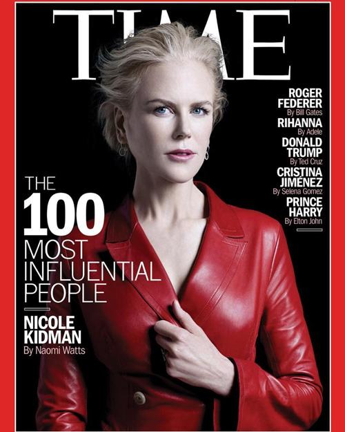 Nicole Kidman Nicole Kidman tra le 100 persone più influenti secondo il Time