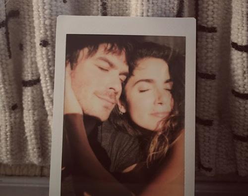 Ian Somerhalder Ian Somerhader festeggia i tre anni di matrimonio con Nikki