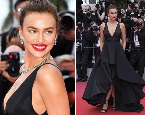 Irina Shayk Irina Shayk incanta Cannes con la sua scollatura
