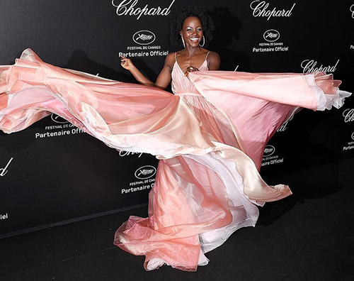 Lupita Nyongo Lupita Nyong'o incanta al party Chopard