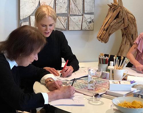 Nicole Kidman Nicole Kidman, festa della mamma in famiglia