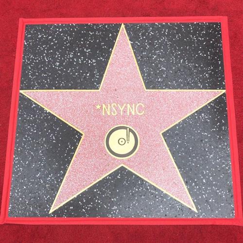 Nsync 2 Gli 'NSYNC hanno la loro stella sulla Walk of Fame