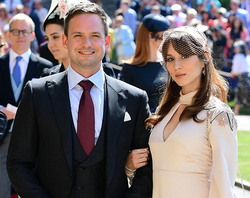 Patrick Troian Royal Wedding: c'era anche Patrick J. Adams
