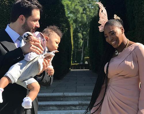 Serena Williams 1 Serena Williams in rosa per il Royal Wedding