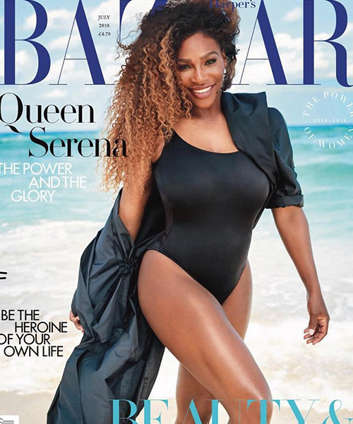Serena Williams 2 1 La prova cotume di Serena Williams è su Harper's Bazaar