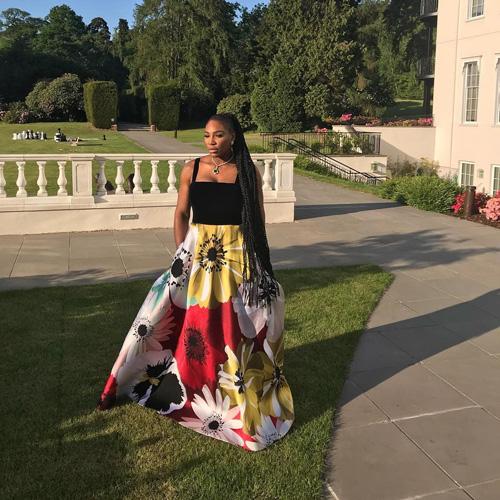 Serena Williams 3 Serena Williams in rosa per il Royal Wedding
