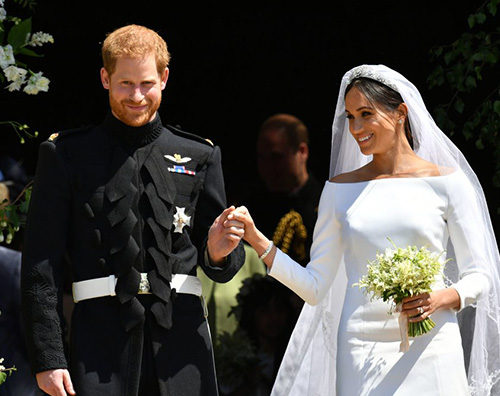 royal wedding 2 Katy Perry non ha gradito l'abito di Meghan Markle