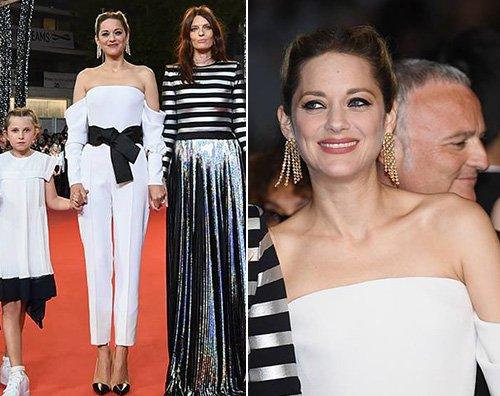 "Marion Cotillard Cannes 2018: Marion Cotillard in bianco per ""Angel Face"""
