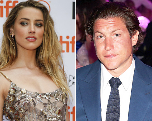 Amber Heard 2 Amber Heard e Vito Schnabel sono una coppia