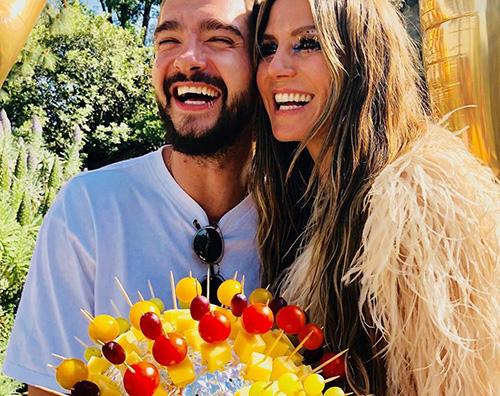 Heidi Klum Heidi Klum e Tom Kaulitz sempre più innamorati