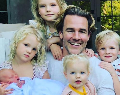 James Van Der Beek James Van Der Beek è papà per la quinta volta