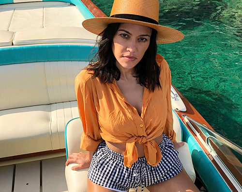 Kourtney 3 1 Kourtney Kardashian e la dolcevita a Capri