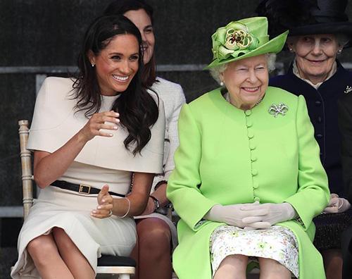 Meghan Markle 1 1 Meghan Markle, nuova uscita pubblica con la regina