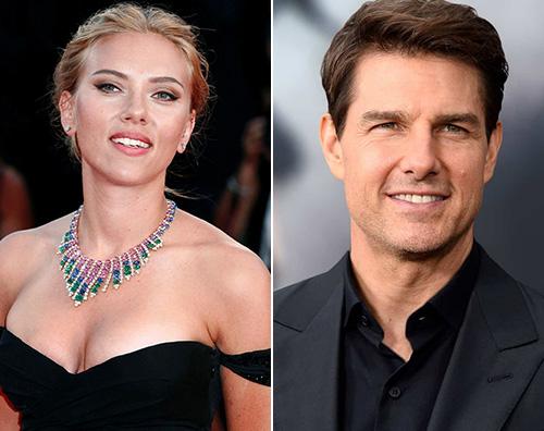 """Scarlett Tom Scarlett Johansson: """"Mai fatto un provino per uscire con Tom Cruise"""""""