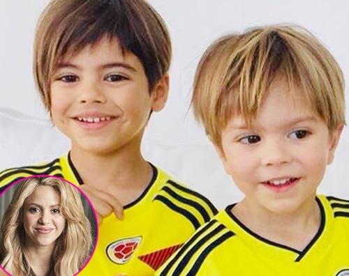 Shakira 1 Shakira, i suoi figli fanno il tifo per la Colombia