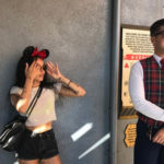 Zoe Kravitz 1 150x150 Zoe Kravitz a Disneyland col suo Karl