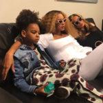 Beyonce 2 1 150x150 Beyonce, la foto dei gemelli fa impazzire il web