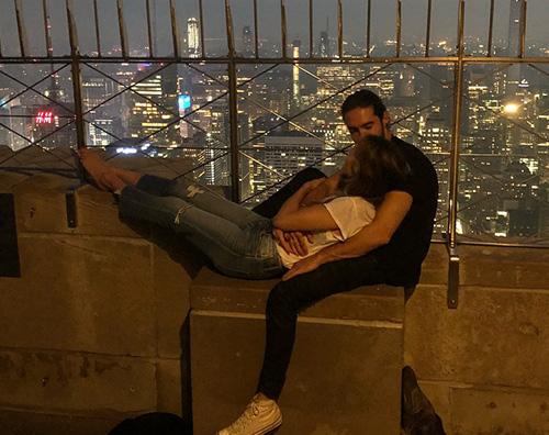 Heidi Klum 1 Heidi Klum e Tom Kaulitz, due innamorati sull'Empire State Building