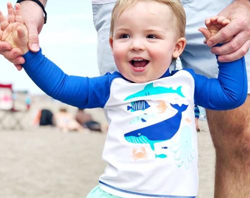 Katherine Heigl Katherine Heigl, vacanza al mare con i bambini