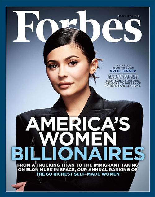 Kylie Jenner 1 Kylie Jenner è la giovane donna più ricca d'America