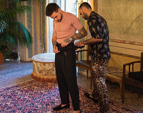 Liam Payne 3 Liam Payne sul Lago di Como per Dolce e Gabbana
