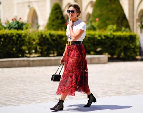 Mandy Moore Mandy Morre stilosa alla sfilata di Dior