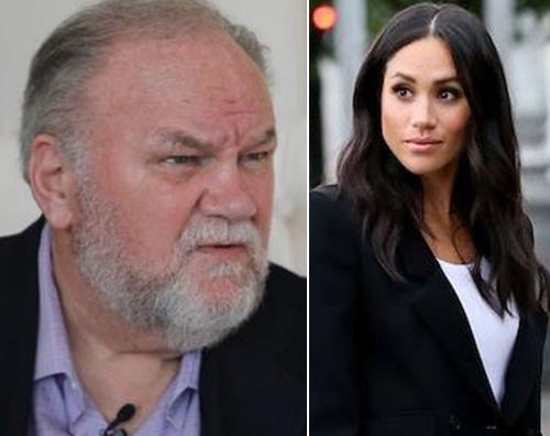 Meghan Markle Thomas Markle Royal Baby, gli auguri di nonno Thomas Markle