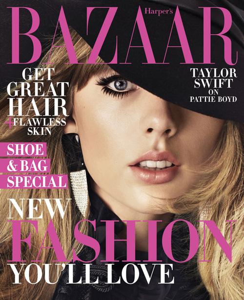Taylor 5 Taylor Swift è sulla cover di Harper's Bazaar