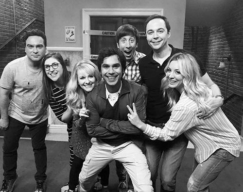 Kaley Cuoco 1 Kaley Cuoco ritorna sul set di The Big Bang Theory