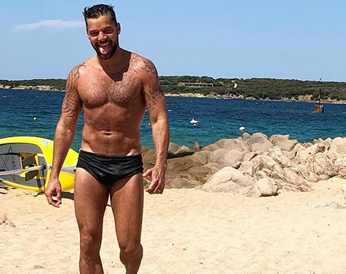 Ricky Martin 1 Ricky Martin fisico palestrato in Sardegna