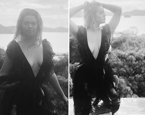 Sasha Pieterse Sasha Pieterse in topless su Instagram